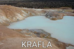 Iceland: The unreal area of Krafla (hiking in the lava field)