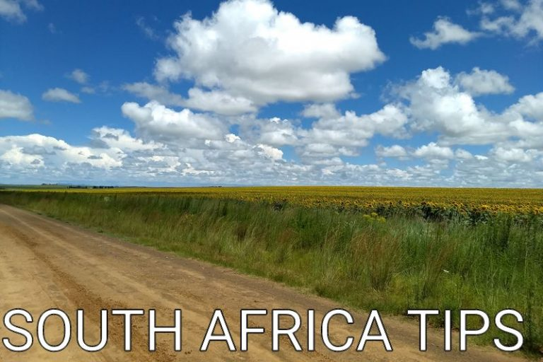 South Africa: Tips