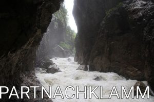 Germany: The beautiful Partnachklamm
