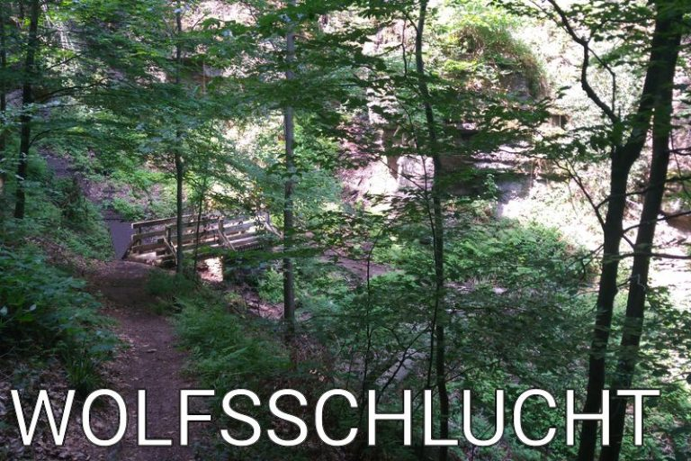 Germany: A half day hike in the Wolfsschlucht