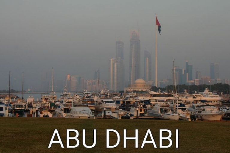 Abu Dhabi: Stranded for one Day