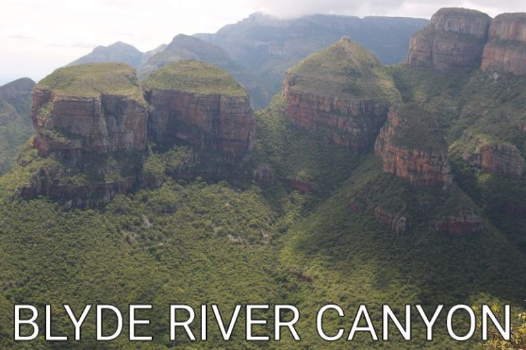 South Africa: Blyde River Canyon