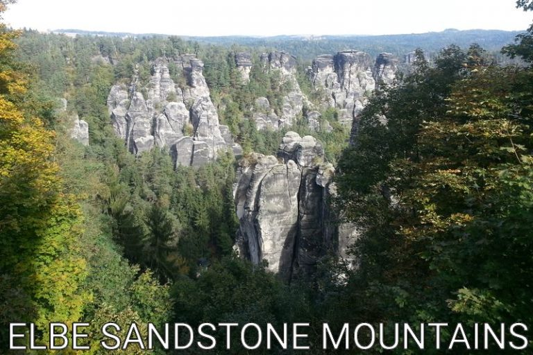 Germany: The incredible Elbe Sandstone Mountains