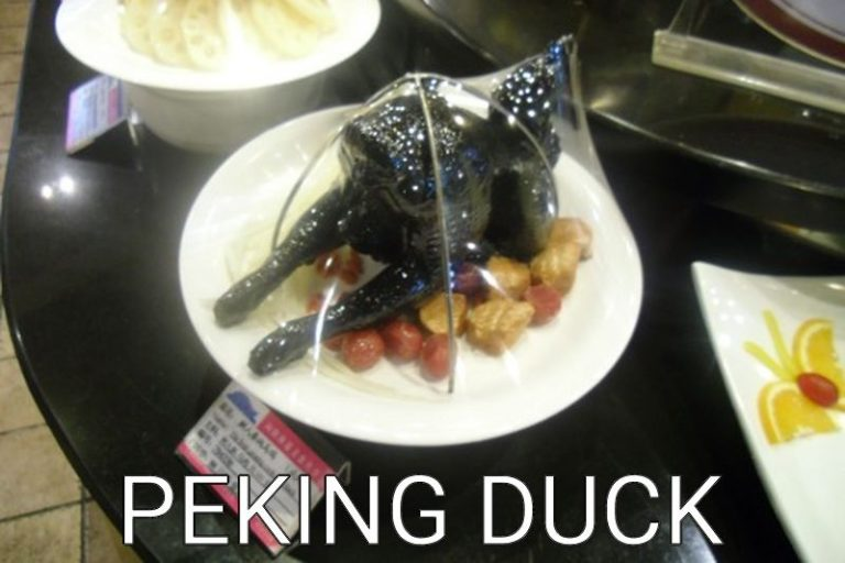 China: Peking duck