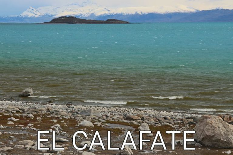 Argentina: Drive to and around El Calafate