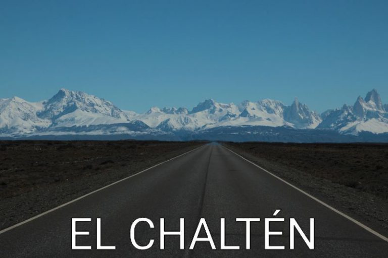Argentina: First view on the amazing El Chaltén
