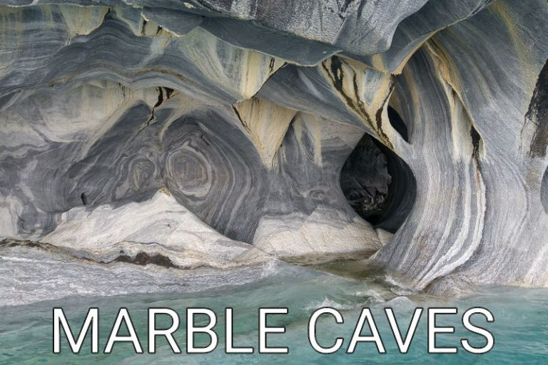 Chile: The unusual beauty of the marble caves