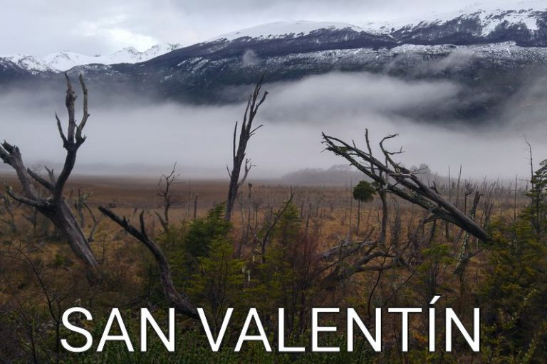 Chile: Morning drive to the Monte San Valentín National Park