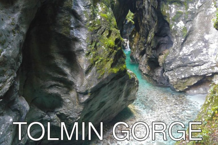 Slovenia: The beautiful Tolmin Gorge