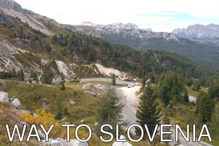Slovenia: On the way to Slovenia