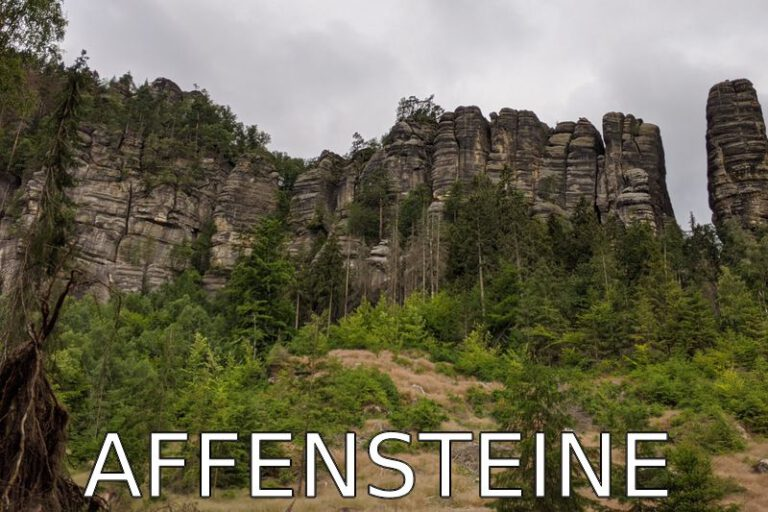 Germany: Morning hike to the Affensteine