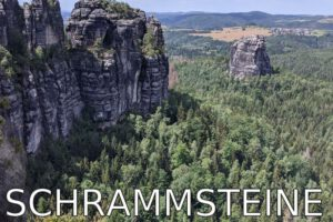 Germany: Iconic hike to the Schrammsteine (Elbe Sandstone Mountains)