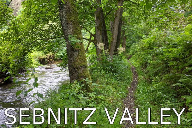 Germany: A morning hike to the Sebnitz River
