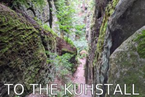 Germany: Up to the Kuhstall (Himmelsleiter)