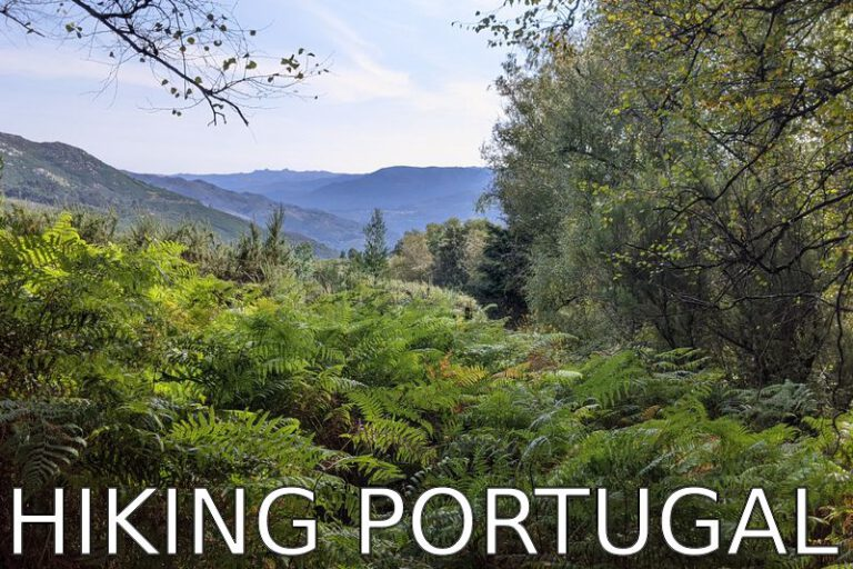 Portugal: Resume after hiking 200 km in the North of Portugal