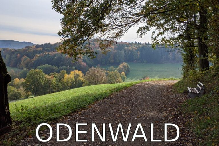 Germany: A weekend walk in the Odenwald in Autumn